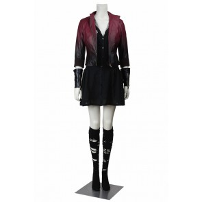 Avengers: Age Of Ultron Cosplay Scarlet Witch Costume