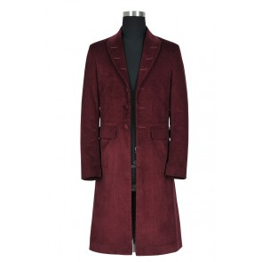 Doctor Who 4th Fourth Dr Tom Baker Cosplay Costume