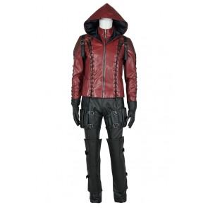 Green Arrow Season 3 Cosplay Red Arrow Roy Harper Costume