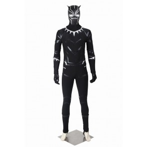 Captain America 3 Black Panther Cosplay Costume