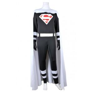 Superman Cosplay Cark Kent White Cape Costume