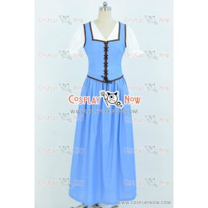 Once Upon A Time Belle Cosplay Costume