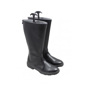 Fullmetal Alchemist Cosplay Shoes Roy Mustang Boots Black