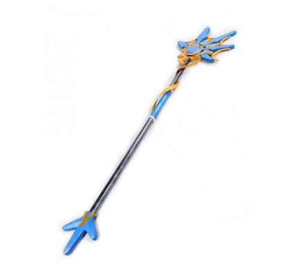 DOTA2 Crystal Maiden Ice crystal comet dress Staff Cosplay Props