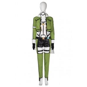 Asada Shino Costume For Sword Art Online Cosplay Uniform