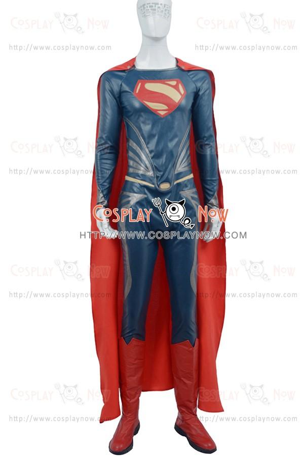 Superman Clark Kent Costume For Superman Man Of Steel Cosplay