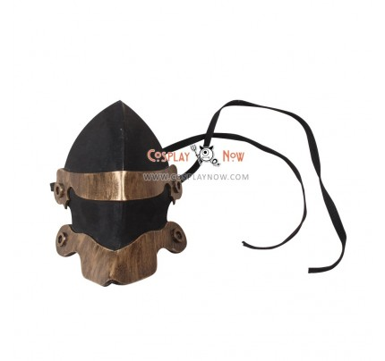 KABANERI OF THE IRON FORTRESS Mumei Knee Armor Cosplay Props