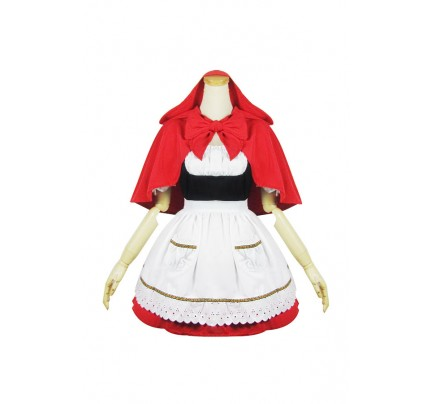 Little Red Riding Hood Cosplay Dress