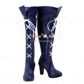 Sailor Moon Sailor Saturn Tomoe Hotaru Saturn Blue purple Shoes Cosplay Boots