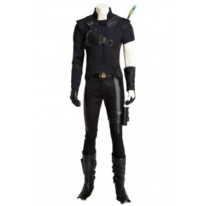 Hawkeye Clint Barton Costume For Captain America Civil War Cosplay Uniform