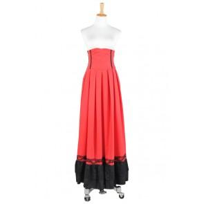 Lolita Dress Victorian Lolita Edwardian Period Pleated Skirt Cosplay Costume