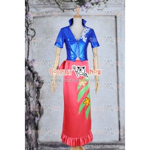 One Piece Nico Robin Devil Child Cosplay Costume