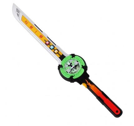 Power Rangers Shuriken Sentai Ninninger Midoninger (Ninja Steel Green Cosplay Props