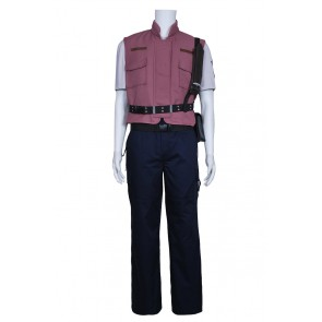 Resident Evil 5 Chris Barry Burton Cosplay Costume