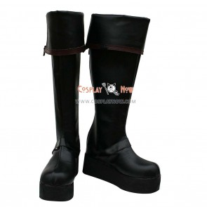 D Gray-Man Cosplay Shoes Yu Kanda Boots