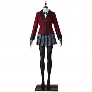 Kakegurui Compulsive Gambler Cosplay Jabami Yumeko Costume Uniform