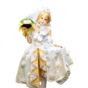 Love Live LoveLive Cosplay Hanayo Koizumi Costume Wedding Dress