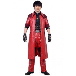 Dante Costume Devil May Cry 4 Special Edition Cosplay