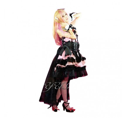 Macross Frontier Cosplay Sheryl Nome Costume Dress