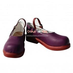 Vocaloid Aku Yamine PU Cosplay Shoes