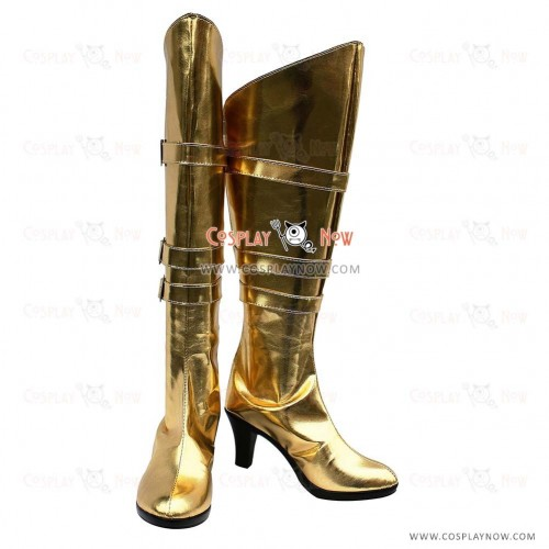VOCALOID Snow Miku Cosplay Shoes Meiko Boots