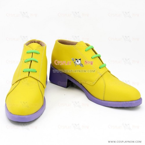 JoJo's Bizarre Adventure Rohan Kishibe Yellow Cosplay Shoes