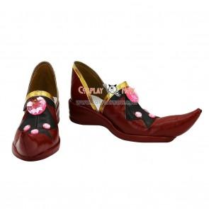 Tsubasa Reservoir Chronicle Sakura Red Cosplay Shoes
