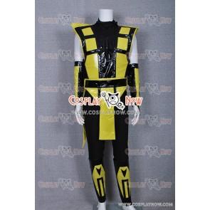 Mortal Kombat Scorpion Cosplay Costume