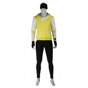 Pokemon GO Cosplay Male Yellow Uniform