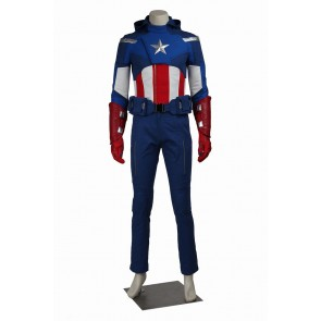 The Avengers Cosplay Captain America Costume