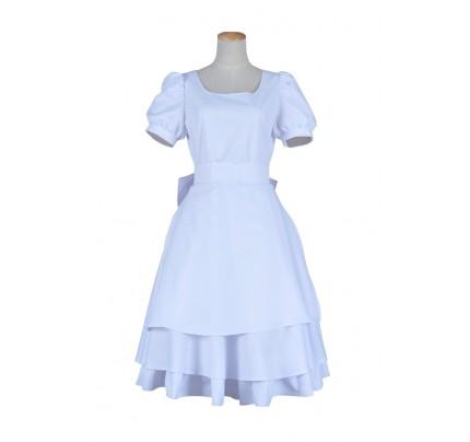 Alice Madness Returns Cosplay Alice Costume White Dress