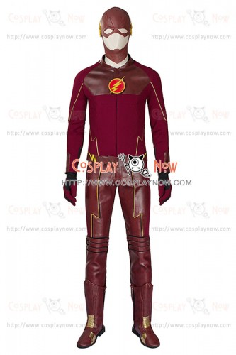 Barry Allen Costume For The Flash Cosplay Uniform New