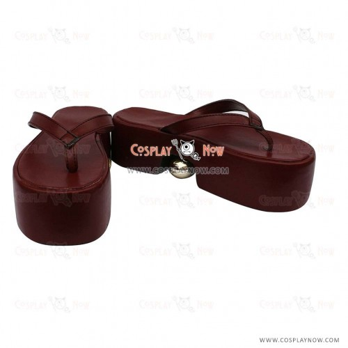 Vocaloid Senbon Sakura Rin Cosplay Shoes