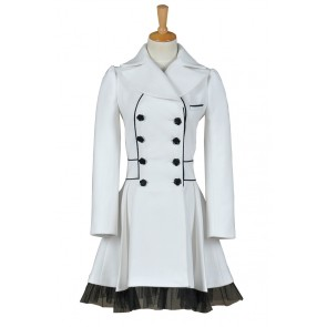 RWBY Season 2 White Trailer Weiss Schnee Cosplay Costume