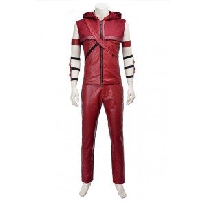 Roy Harper Speedy Red Arrow Costume For Green Arrow Cosplay