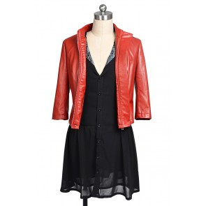 Scarlet Witch Wanda Maximoff Costume For Avengers Age of Ultron Cosplay