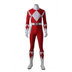 Mighty Morphin Power Rangers Cosplay Tyranno Ranger Geki Costume