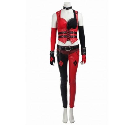 Batman Arkham Knight Harley Quinn Cosplay Costume New