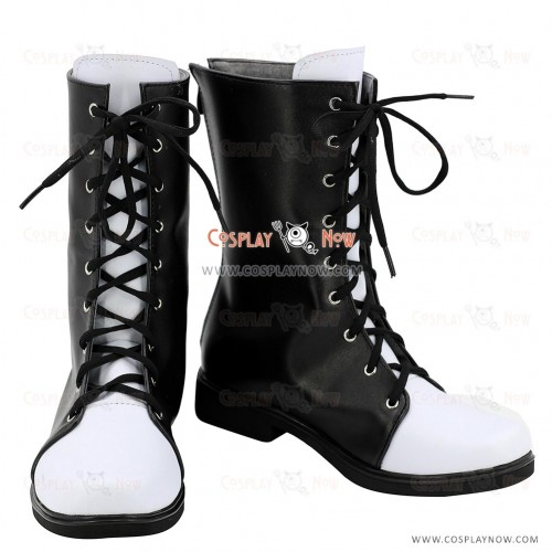 Kantai Collection Cosplay Shoes Yūgumo Makigumo Akigumo Naganami Black Boots