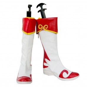 Dynasty Warriors Cosplay Shoes Da Qiao Boots