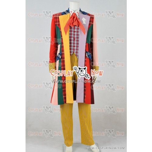Doctor Who Cosplay 6th Sixth Dr Coat Costume
