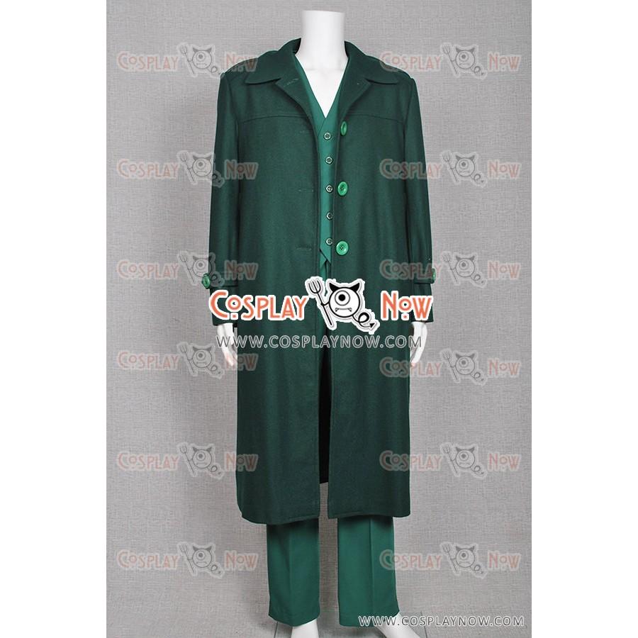The Green Hornet Cosplay Britt Reid Costume Coat+Vest+Pants+Mask Full Set