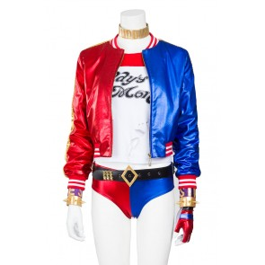 Harley Quinn Costume For Suicide Squad Cosplay Uniform