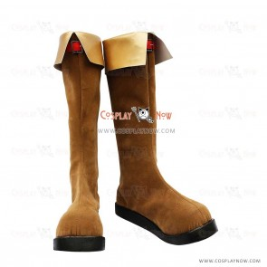 The Legend of Zelda Cosplay Shoes Link Brown Boots
