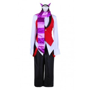 Grell Sutcliff Cheshire Cat Costume For Black Butler Cosplay
