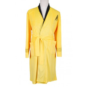 Star Trek Costume TOS Yellow Bath Robe