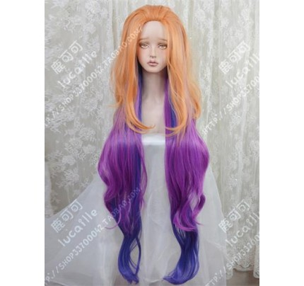 Coswinner LEAGUE OF LEGENDS LOL ZOE wig Cospaly Prop