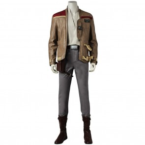 Star Wars Finn Cosplay Costume for Man with outfit