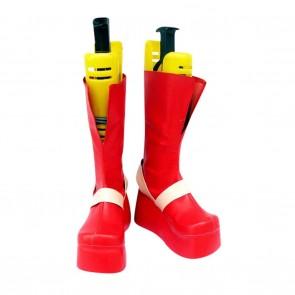 Gurren Lagann Cosplay Shoes Viral Red Boots