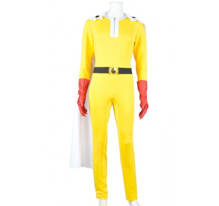 One Punch Man Saitama Cosplay Costume